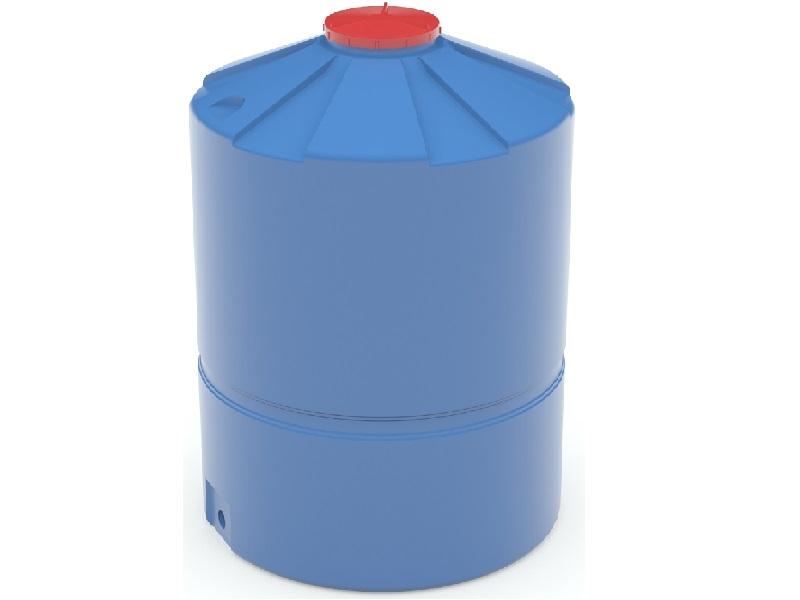 Емкость пластиковая синего цвета