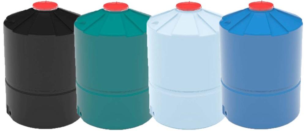 Пластиковые емкости зеленый черный белый синий цвет