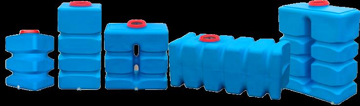 Прямоугольные емкости для воды и топлива