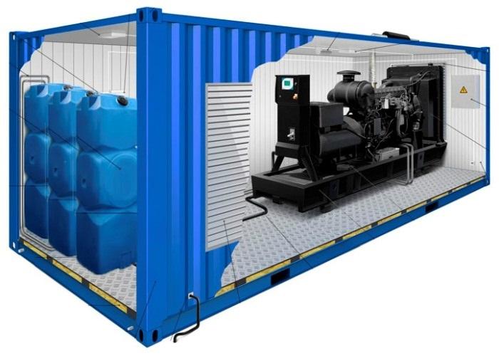 Дополнительный топливный бак для генератора
